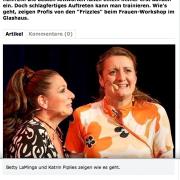 """""""Die Königinnen des Improvisationstheaters sind echte Fachfrauen in Sachen Schlagfertigkeit."""""""